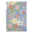 Les Fleurs Peony Rose Tulip Floral Flower Monogram Cover For The iPad Mini