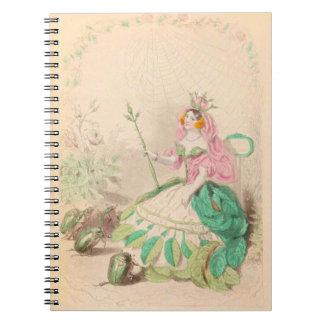 Les Fleurs Rose Notebooks
