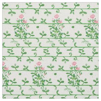 Les fleurs roses de margarita ont peigné le tissu