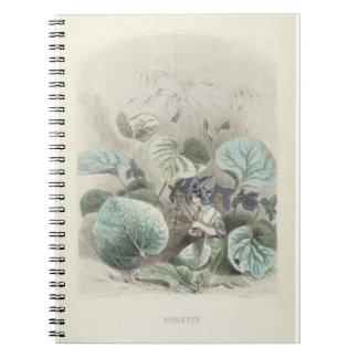 Les Fleurs Violets Notebooks