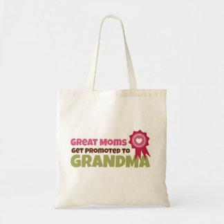 Les grandes mamans obtiennent favorisées à la sac en toile budget