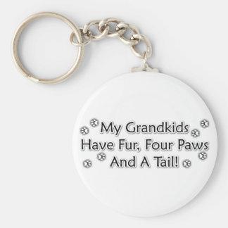 Les Grandkids sont des animaux Porte-clé Rond