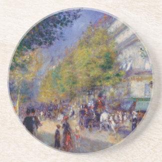 Les Grands Boulevards by Renoir Coaster