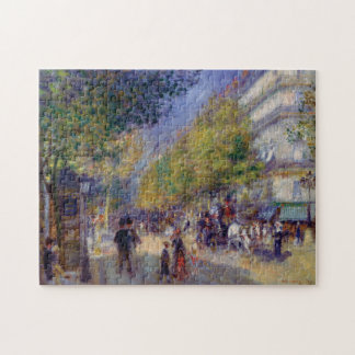 Les Grands Boulevards by Renoir Jigsaw Puzzle