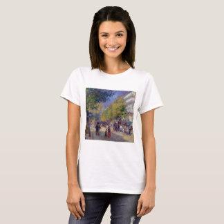 Les Grands Boulevards by Renoir T-Shirt