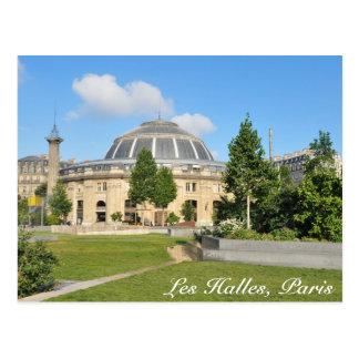 Les Halles in Paris, France Postcard