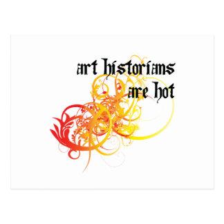 Les historiens d'art sont chauds cartes postales