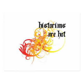 Les historiens sont chauds cartes postales
