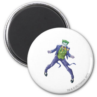Les hurlements de joker magnet rond 8 cm