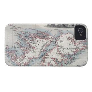 Les Îles Falkland et le Patagonia, d'une série de Coque iPhone 4