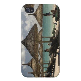 Les Îles Maurice, courrier de Flacq. Scène de plag iPhone 4 Case