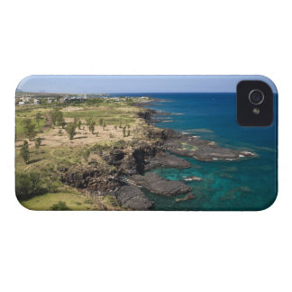 Les Îles Maurice, Îles Maurice occidentales, belle Coques iPhone 4 Case-Mate