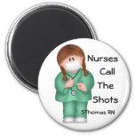 Les infirmières appellent l'aimant de tirs