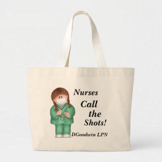Les infirmières appellent les tirs Sac fourre-to