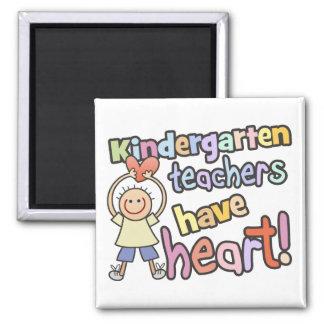 Les institutrices gardiennes ont l'aimant de coeur