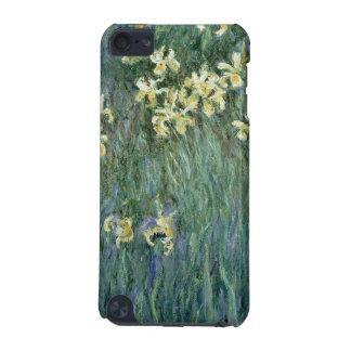 Les iris jaunes (huile sur la toile)