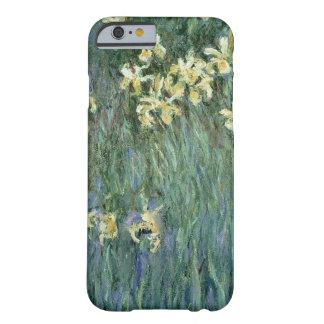 Les iris jaunes (huile sur la toile) coque iPhone 6 barely there