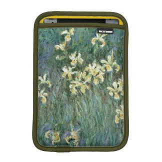 Les iris jaunes (huile sur la toile) housses pour iPad mini