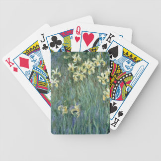 Les iris jaunes (huile sur la toile) jeux de poker