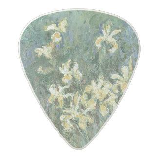 Les iris jaunes (huile sur la toile) médiator acetal