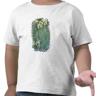 Les iris jaunes (huile sur la toile) t-shirt
