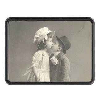 Les jeunes années 1920 de la photo c d'amour couverture d'attelage de remorque