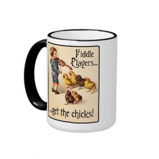 Les joueurs de violon obtiennent aux poussins la mug ringer