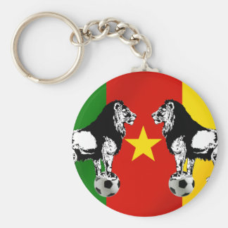 Les Lions Indomables Cameroun 2010 Keychain