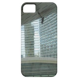 Les LUMIÈRES EN VERRE n de bâtiments de Las Vegas Coque iPhone 5 Case-Mate