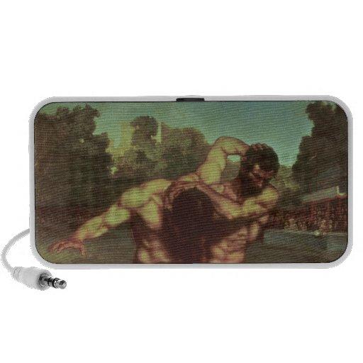 Les lutteurs, 1853 haut-parleur de voyage