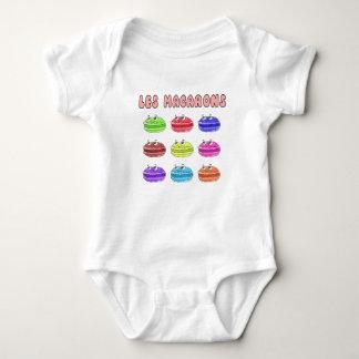Les Macarons Cute Cartoon Baby Bodysuit