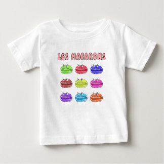Les Macarons Cute Cartoon Baby T-Shirt