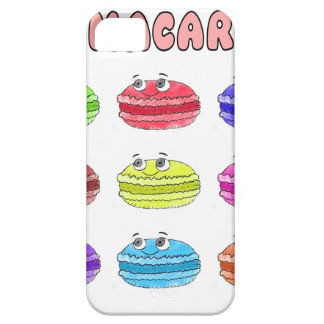 Les Macarons Cute Cartoon Case For The iPhone 5