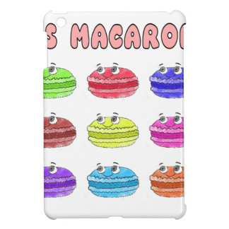 Les Macarons Cute Cartoon iPad Mini Cover