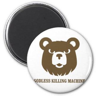les machines athée de massacre d'ours câlinent le  magnets pour réfrigérateur