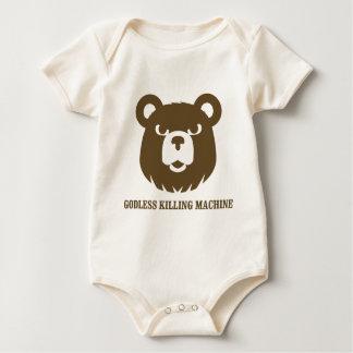 les machines athée de massacre d'ours câlinent le body pour bébé