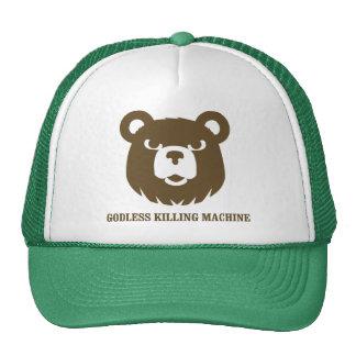les machines athée de massacre d'ours câlinent le  casquette