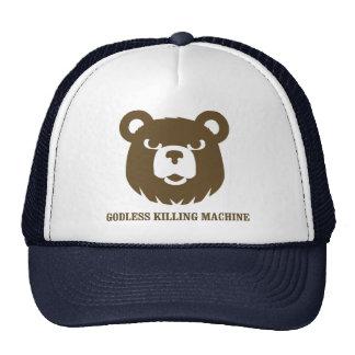 les machines athée de massacre d'ours câlinent le  casquette de camionneur