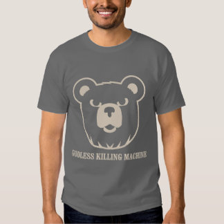 les machines athée de massacre d'ours câlinent le t shirt