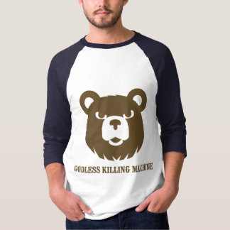 les machines athée de massacre d'ours câlinent le t-shirt
