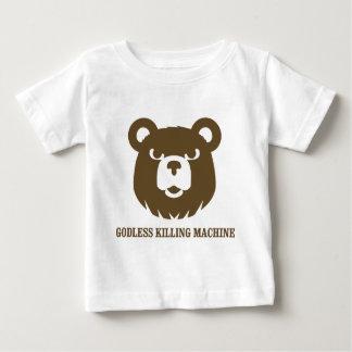 les machines athée de massacre d'ours câlinent le t-shirt pour bébé