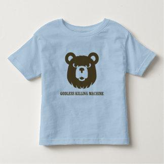les machines athée de massacre d'ours câlinent le t-shirt pour les tous petits