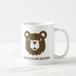 les machines athée de massacre d'ours câlinent le  tasse