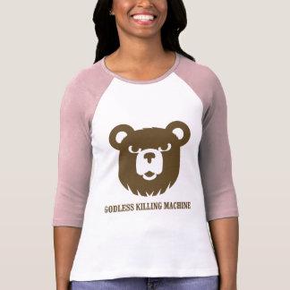 les machines athée de massacre d'ours câlinent le tee-shirts