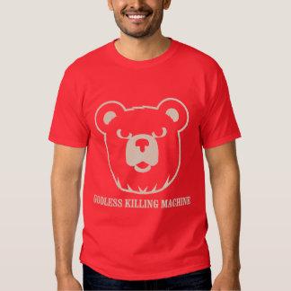 les machines athée de massacre d'ours câlinent le tshirt