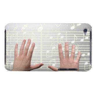 Les mains de la femme étuis barely there iPod