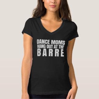 Les mamans de danse traînent au barre tshirts