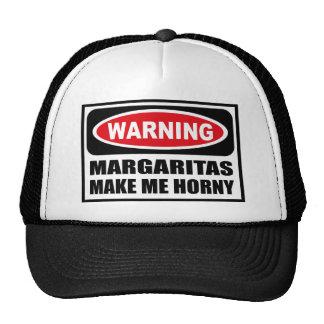 Les MARGARITAS d'avertissement ME FONT le chapeau  Casquettes
