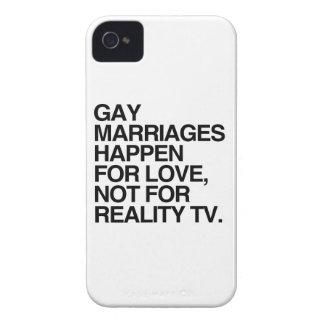 LES MARIAGES HOMOSEXUELS SE PRODUISENT POUR ÉTUIS iPhone 4