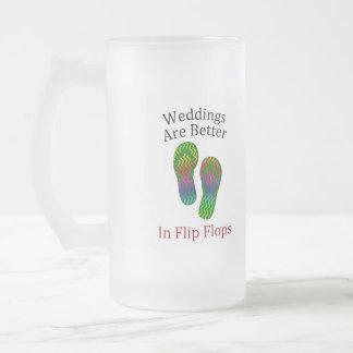 Les mariages sont meilleurs dans le mariage de pla mugs à café